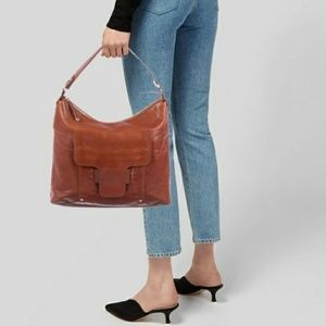 Kate Spade AUTH Vintage Cognac Leather Bag